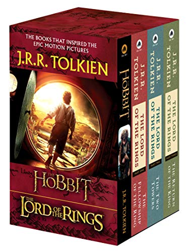 J.R.R. Tolkien 4-Book Boxed Set: The Hobbit and The Lord of the Rings Mass Market Paperback – September 25, 2012