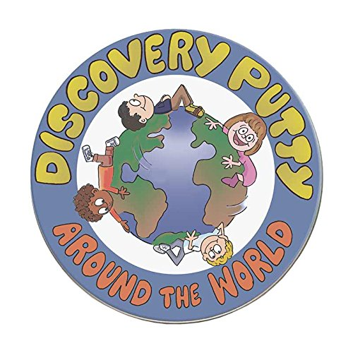 Fun and Function Around the World Discovery Putty for Ages 5+ – Therapy Putty Has Hidden Pieces for Tactile Exploration