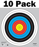 60 cm / 24 in Bullseye Archery (10 Ring) and Gun Targets by Longbow Targets...