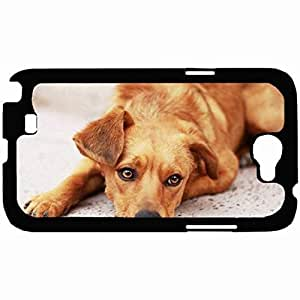 New Style Customized Back Cover Case For Samsung Galaxy Note 2 Hardshell Case, Back Cover Design Dog Personalized Unique Case For Samsung Note 2