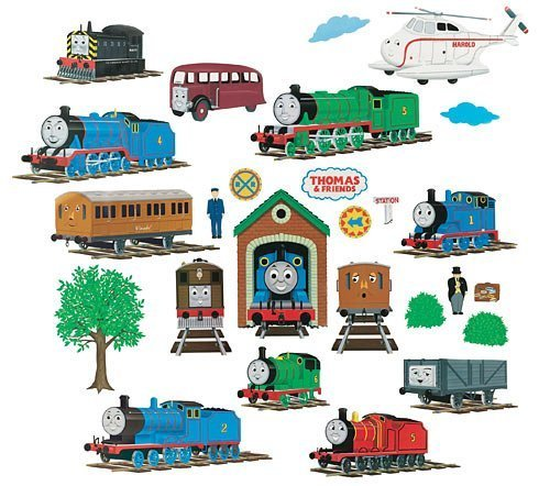 THOMAS U0026 Friends   Peel U0026 Stick   Wall Stickers: Amazon.ca: Home U0026 Kitchen