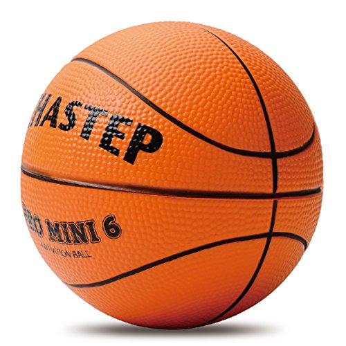 Chastep Mini Basketball, 6 Inch Foam Ball. Soft and Bouncy, Non-Toxic, Safe to Play