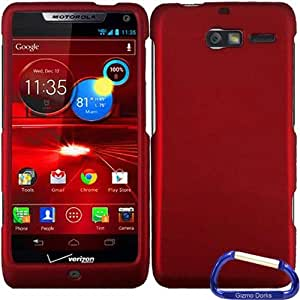 Gizmo Dorks Hard Skin Snap On Case Cover for the Motorola Droid RAZR M XT907, Red