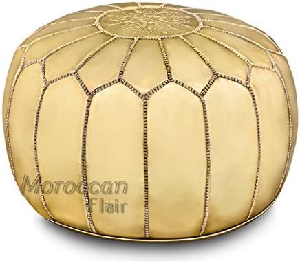 Moroccan Flair Modern Ottoman