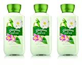 Bath & Body Works Shea & Vitamin E Lotion Gardenia & Fresh Rain (3 Pack) For Sale