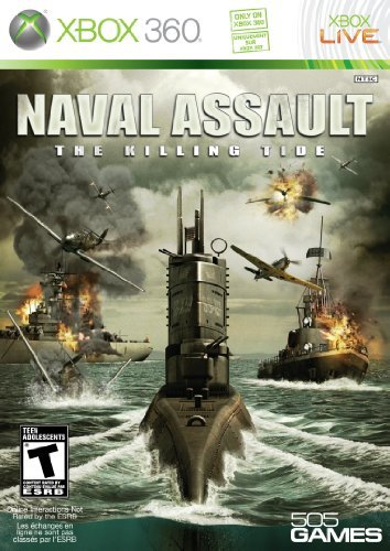 Naval Assault: The Killing Tide - Xbox 360 by 505 Games by 505 Games