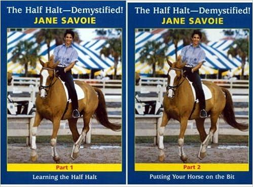Amazon.com: THE HALF HALT - DEMYSTIFIED! PARTS 1 & 2: Jane ...