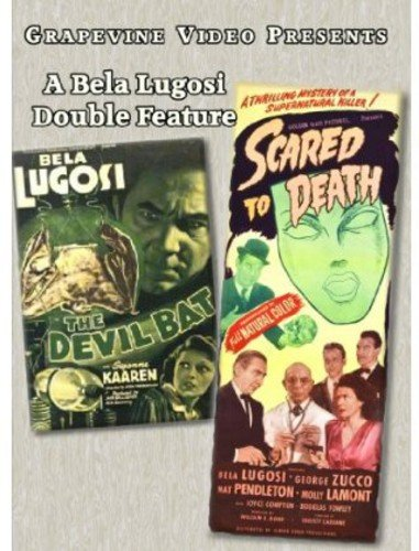DVD : The Devil Bat / Scared To Death (DVD)