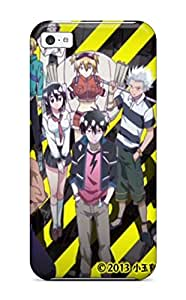 New Style Flexible Tpu Back Case Cover For Iphone 5c - Blood Lad