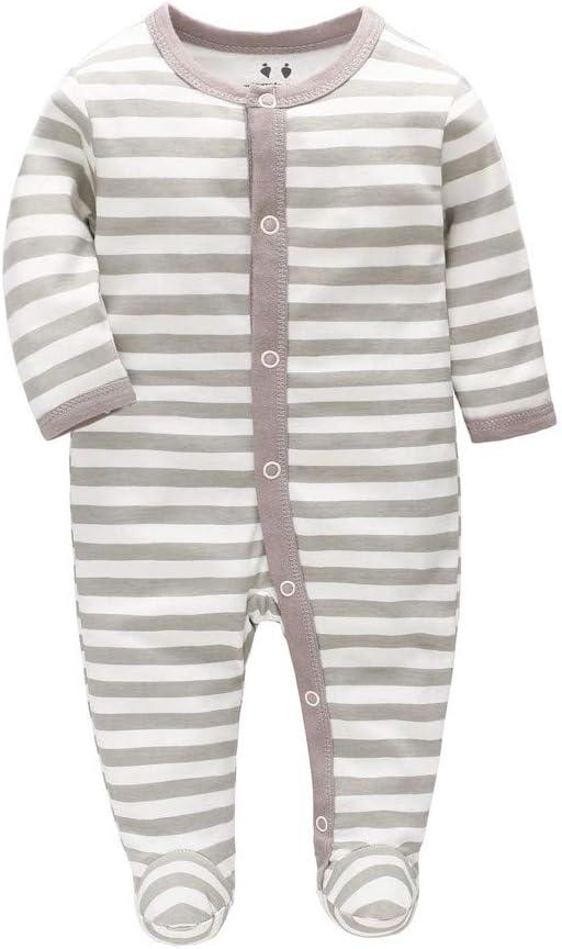 Light Blue, 0-3 Months Mumustar Newborn Infant Baby Girls Boys Romper Jumpsuit Cartoon Animal Design Outfits Playsuit 10 Styles