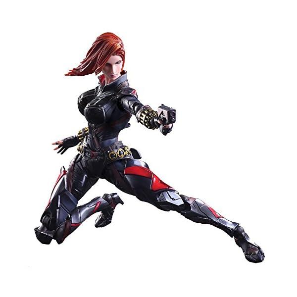 51NrM4MhlyL Marvel Comics Variant - Black Widow Play Arts Kai - 26cm