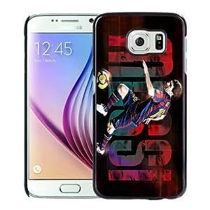 WANY Beautiful Classic Lionel Messi 1 Black Samsung Galaxy S6 Case