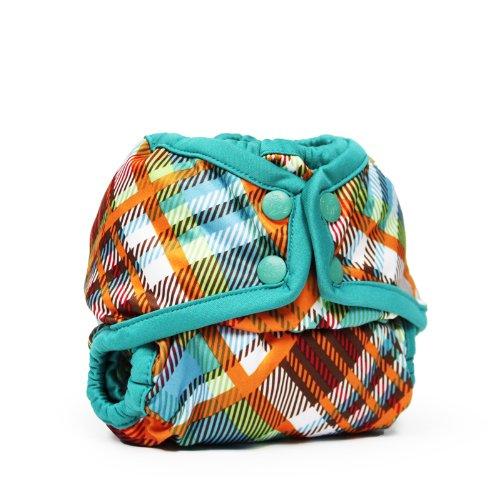 Rumparooz Newborn Cloth Diaper Cover Snap, Quinn ()