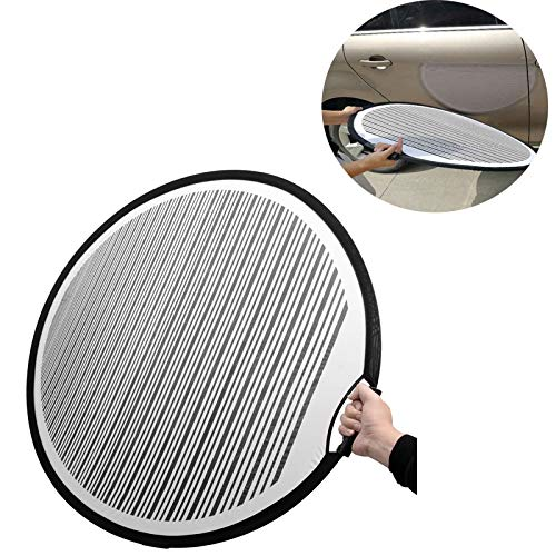 Dent Foldable PDR Lined Dent Reflector Board cloth Reflector Line Board Scratch for Dent Remover Automotive PDR Tools Kit ()
