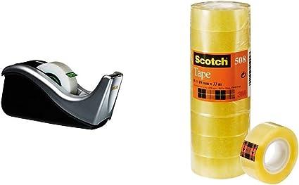Scotch D/évidoir C60 Argent 1 Rouleau Ruban Adh/ésif Magic