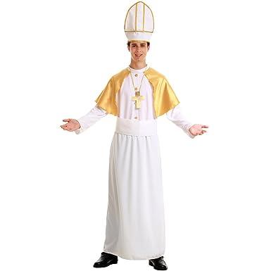 Pious Pope Menu0027s Halloween Costume Catholic Cardinal Bishop Pontiff Clergy Robe  sc 1 st  Amazon.com & Amazon.com: Pious Pope Menu0027s Halloween Costume Catholic Cardinal ...
