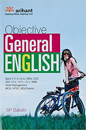 Objective General English Paperback by S.P. Bakshi