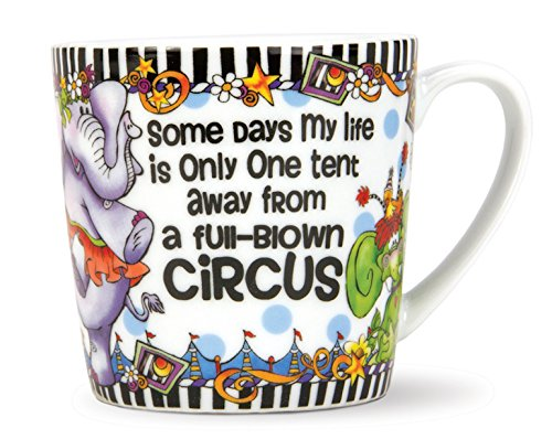 Brownlow Kitchen Suzy Toronto Gift Mug, Circus