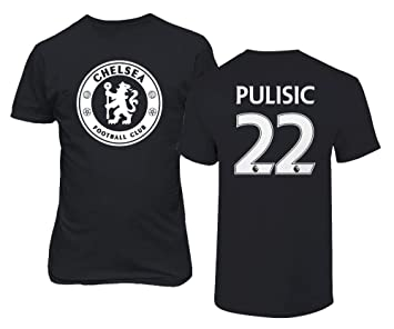 check out 4161f 00893 TURXIN New Chelsea Soccer Shirt Christian PULISIC #22 Men's T-Shirt