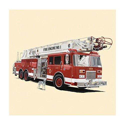 Oopsy Daisy Classic Red Fire Engine by Oopsy Daisy