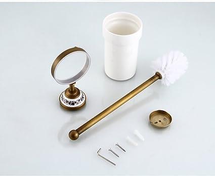 Scopini Da Bagno Ceramica : Set da bagno dispenser portasapone portaspazzolino scopino