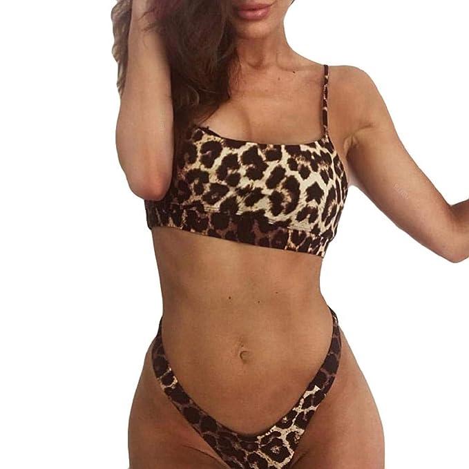 55161133d050b QUICKLYLY Bikini/Tankini Mujer 2018-2019 Push up brasileño Talla Grande  Cintura Alta Sexy
