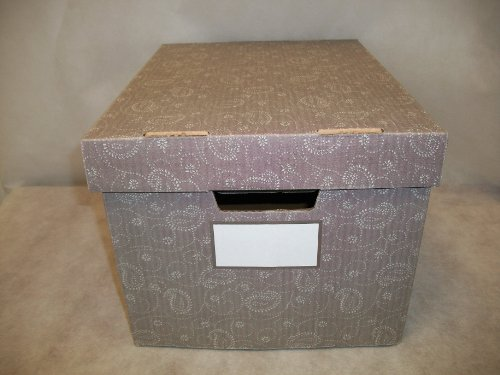 bankers box stor file decorative storage boxes letter. Black Bedroom Furniture Sets. Home Design Ideas