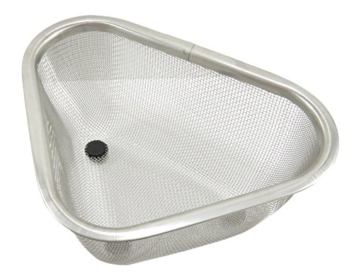 Mesh Stainless Steel Corner Kitchen Sink Strainer 7
