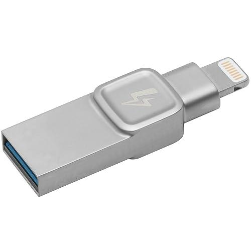 Kingston Data Traveler Bolt Duo 32GB, Conçue pour être utilisée avec des iPhones & iPads ,lightning,USB 3.0