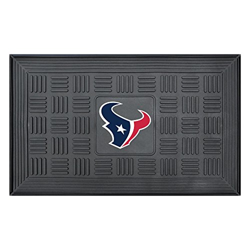 NFL Houston Texans 3-D Team Medallion Vinyl Door Mat