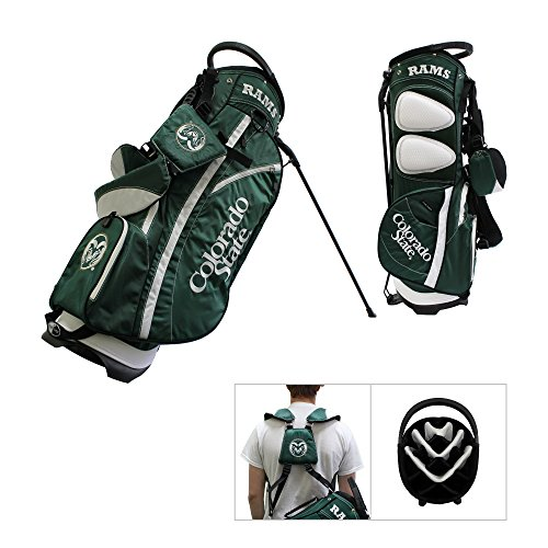 Colorado State Rams Team Golf Fairway Lightweight 14-Way Top Golf Club Stand Bag by Team Golf