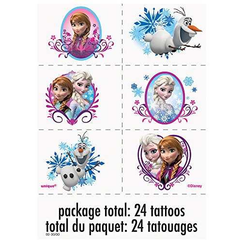 Disney Frozen Tattoos, 24ct -