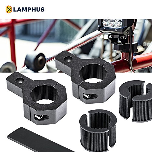 (LAMPHUS 2PC Off-Road LED Light Bar 0.75
