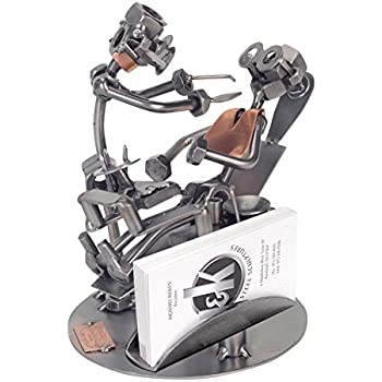 Amazon h k sculptures 240bcpr dentist business card holder h k sculptures 240bcpr dentist business card holder nuts bolts sculpture colourmoves