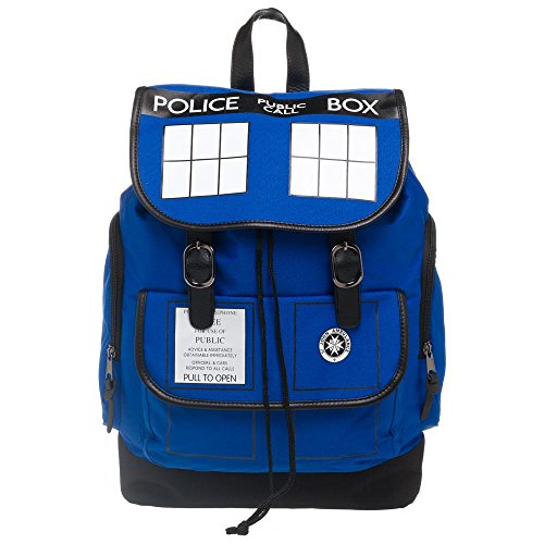 Dr. Who Tardis Backpack - Navy Blue Tardis Backpack