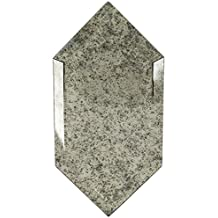 Elongated Beveled Hexagon Antique Mirror (Sold by:UNIT) ELBVHEXANTMR