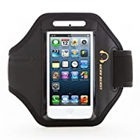 [Apple iPhone 5s Armband] Gear Beast Premium [Sport Gym Bike Cycle Jogging Running Walking] Armband fits iPhone 5s & iPhone 5 & iPhone 4s & iPhone 4 & iPod Touch [5th Gen]