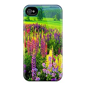 New Premium Flip Case Cover Lupin Meadow Skin Case For Iphone 4/4s