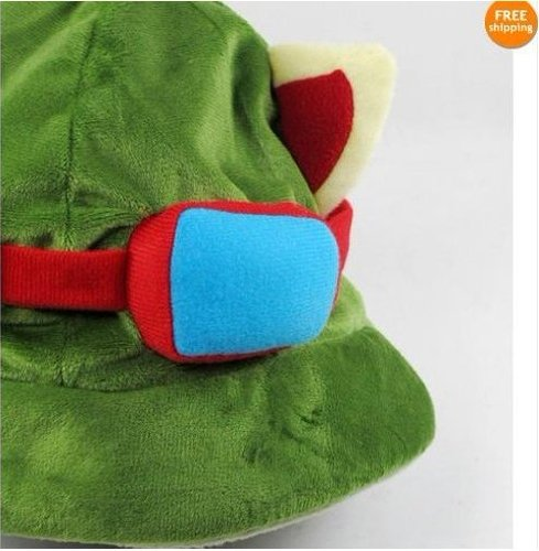 League of Legends LOL Teemo Cosplay HAT Cap Costume