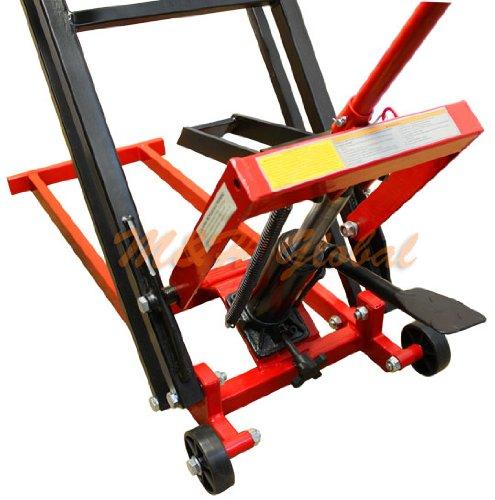 Garden Tractor Hydraulic Implement Lift : Lawn mower lift jack lb cap max hydraulic