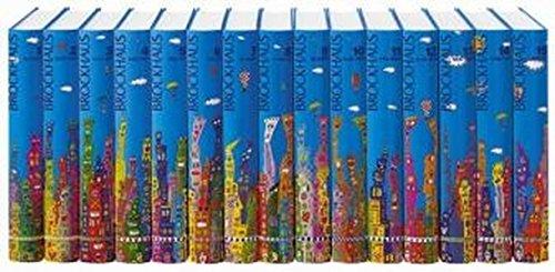 Brockhaus in fünfzehn Bänden. Rizzi- Ausgabe. Rund 140 000 Stichwörter.