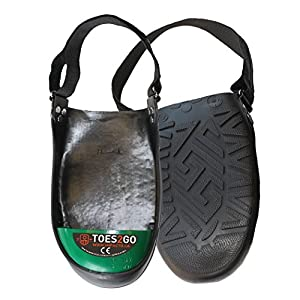 Impacto T2GUL Toes2Go Protective Safety Boot and Shoe Covers, Large, Green