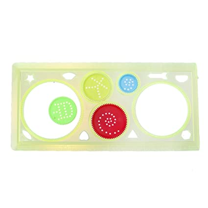 Office & School Supplies Drawing Ruler Set Learning Art Sets Spirograph Geometric Ruler Students Drafting Tools Stationery Creative Gift Children Rulers