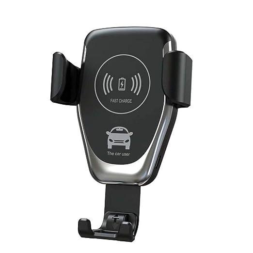 FUPOJW Cargador inalámbrico soporte para coche soporte de ...