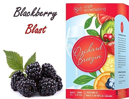 Blackberry Make Wine (Orchard Breezin' Blackberry Blast Merlot Wine Kit by RJS)