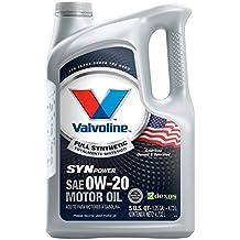 Valvoline 0W-20 SynPower Full Synthetic Motor Oil - 5qt (813460)