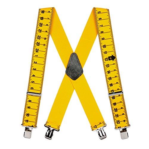 Suspender Store Mens Tape Measure Suspenders - Construction - Store For Men