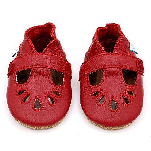 Dotty Fish Zapatos de Cuero Suave Para Bebés 6-12 Meses xnlErXDxf