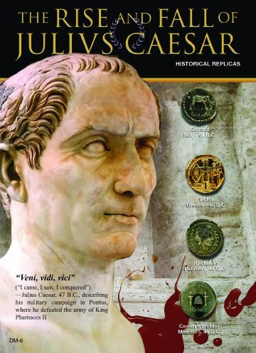 (DM 006) Rise and Fall of Julius Caesar 5x7 (Collection 5 Caesar)