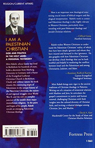 I Am a Palestinian Christian